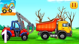 Truck Games for Kids - Build a House, Car Wash Android Gameplay #1 screenshot 4