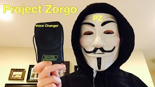 Project Zorgo Voice Changer Review and Gear Test