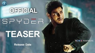 Spyder official teaser release date confirmed | spyder teaser | mahesh babu | ready2release