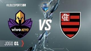 CBLoL 2018: Vivo Keyd x Flamengo (Jogo 1) | Fase de Pontos - 2ª Etapa