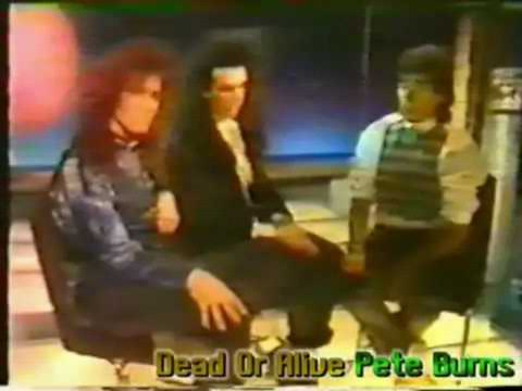 Pete Burns and Steve Coy Interview 1985