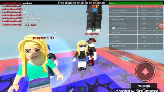 Roblox ga Clear same sister cousin Thrive to survive the Diaster