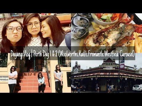 DayangsVlog | Perth Day 1 & 2 (Woolworths, Kaili's, Fremantle, Westfield Carousel) | dygans90