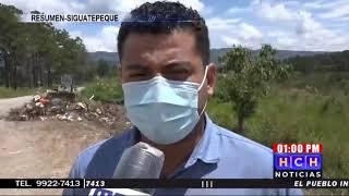 #Siguatepeque Destruyen basurero clandestino gracias a denuncia en #HCH