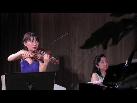 ブラームス:ヴァイオリンソナタ1番「雨の歌」 北島佳奈