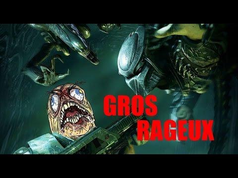 RAGE-MAN : Origine  - Aliens vs Predator ( No Fake )