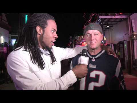 NFL STAR RICHARD SHERMAN 'PUNKS' FANS ON BOURBON STREET