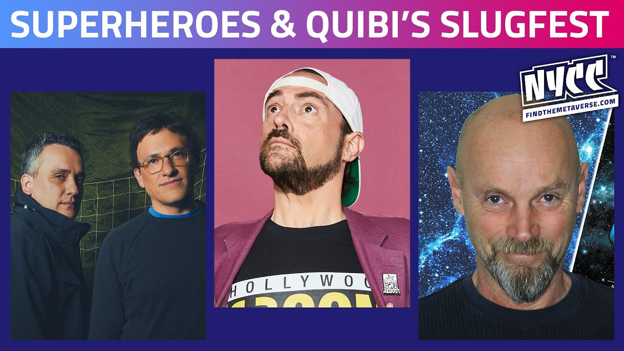 Marvel vs. DC | Russo Brothers & Kevin Smith Talk Superheroes & Quibi's Slugfest
