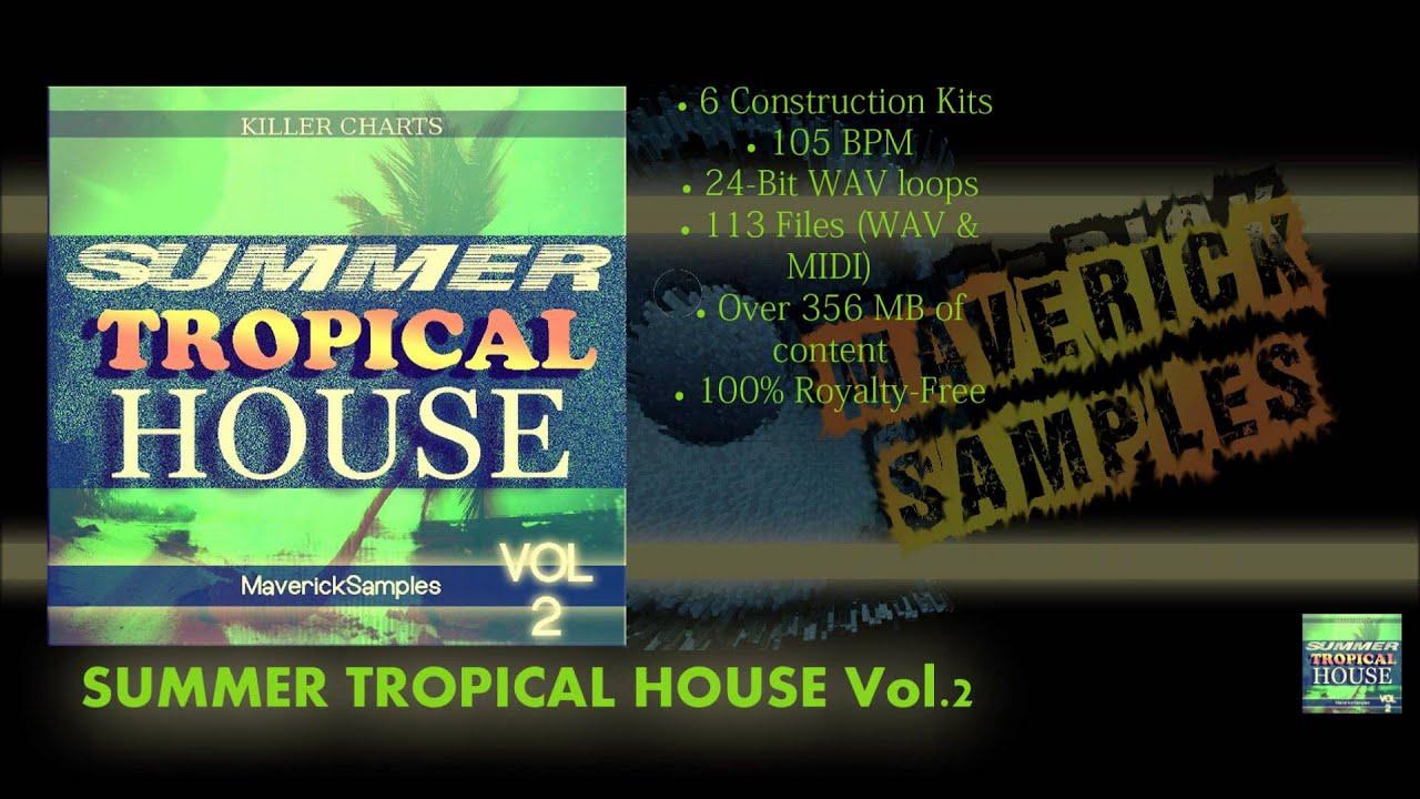 Tropical House Vol 2 Sample Pack Wave Midi - YouTube