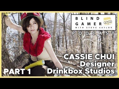 How Drinkbox Studio Designer Cassie Chui became a Game Developer - The BLIND GAMER Podcast
