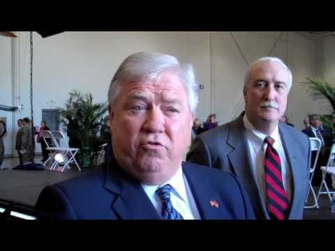 Haley Barbour at 100th UH-72A Lakota Delivery