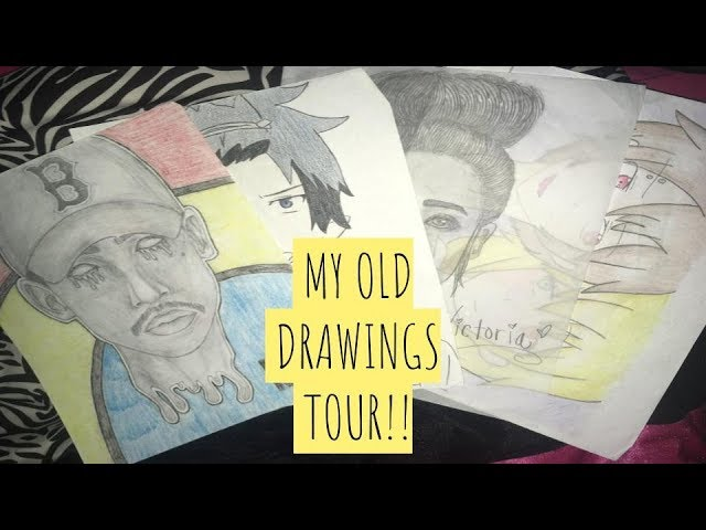 My 2013-2016 Drawings Tour | Nitra ♡
