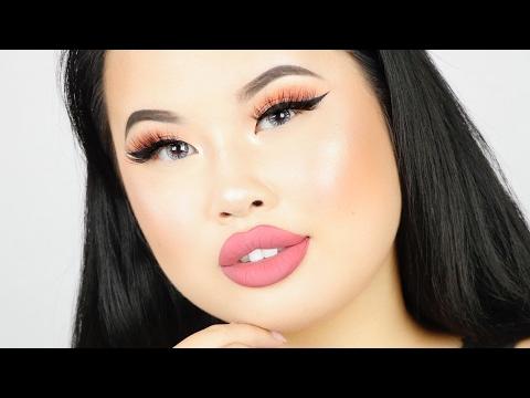 My GO TO Makeup Tutorial - Simple Glam   Kim Thai