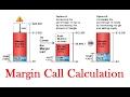 Margin Call Calculation