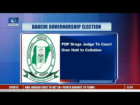 PDP Drags Judge To Court Over Halt In Bauchi Election Results Collation |Lunchtime Politics|