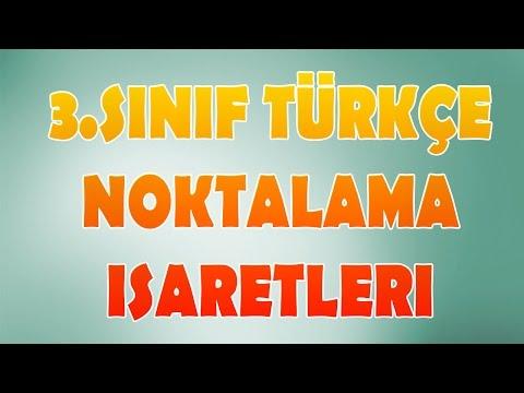 Noktalama İşaretleri  3.Sınıf Türkçe