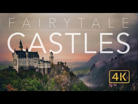 Watch a breathtaking 4K aerial video of Europe's greatest castles