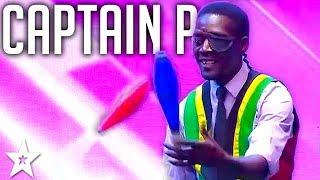 Captain P's ACROBATS ON SA's Got Talent 2017