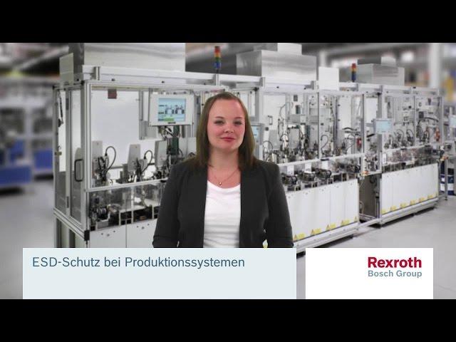 ESD-Schutz bei Produktionssystemen