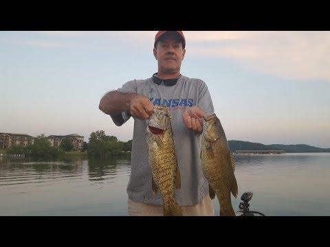 Table Rock Lake Video Fishing Report June 19,2018