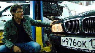 BMW E39 535i M62 Ощущения, Динамика (0-100), Состояние авто