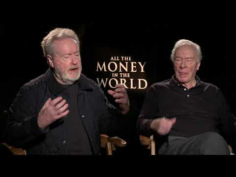 ALL THE MONEY IN THE WORLD : Ridley Scott and Christopher Plummer