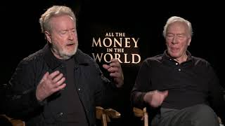 ALL THE MONEY IN THE WORLD Interview: Ridley Scott and Christopher Plummer