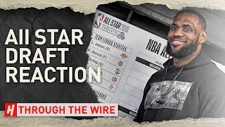 The NBA All Star Game Draft | Through The Wire Podcast