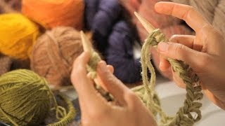How to Join the Round on Circular Needle | Circular Knitting