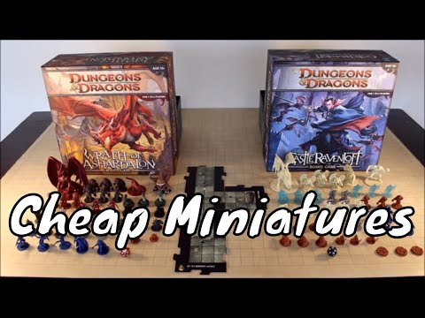 Where to Buy Cheap Official D&D Miniatures Update - YouTube