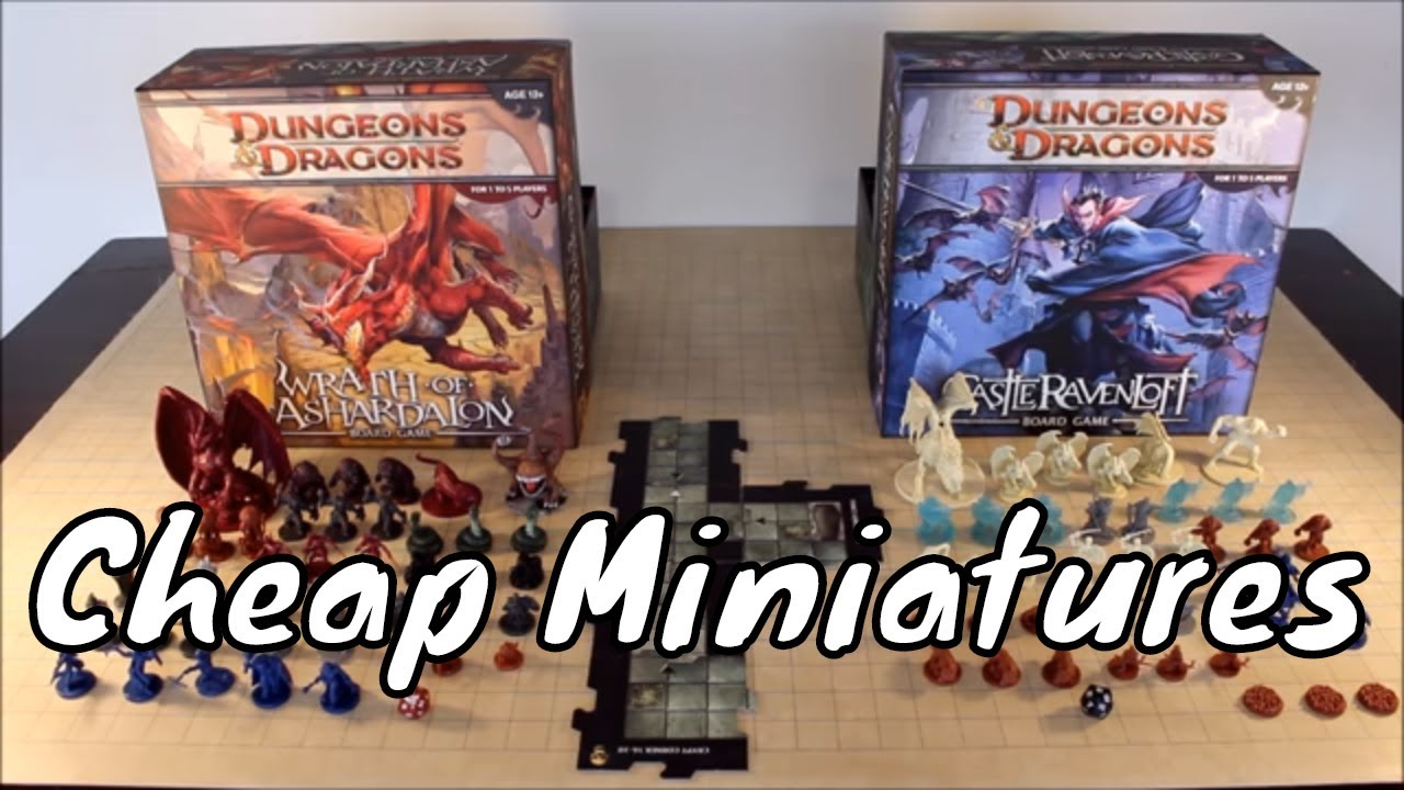 Where to Buy Cheap Official D&D Miniatures Update