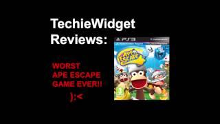 PlayStation Move Ape Escape Review - WORST APE ESCAPE GAME EVER!