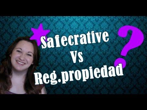 ¿Registro de la propiedad intelectual o Safecreative?