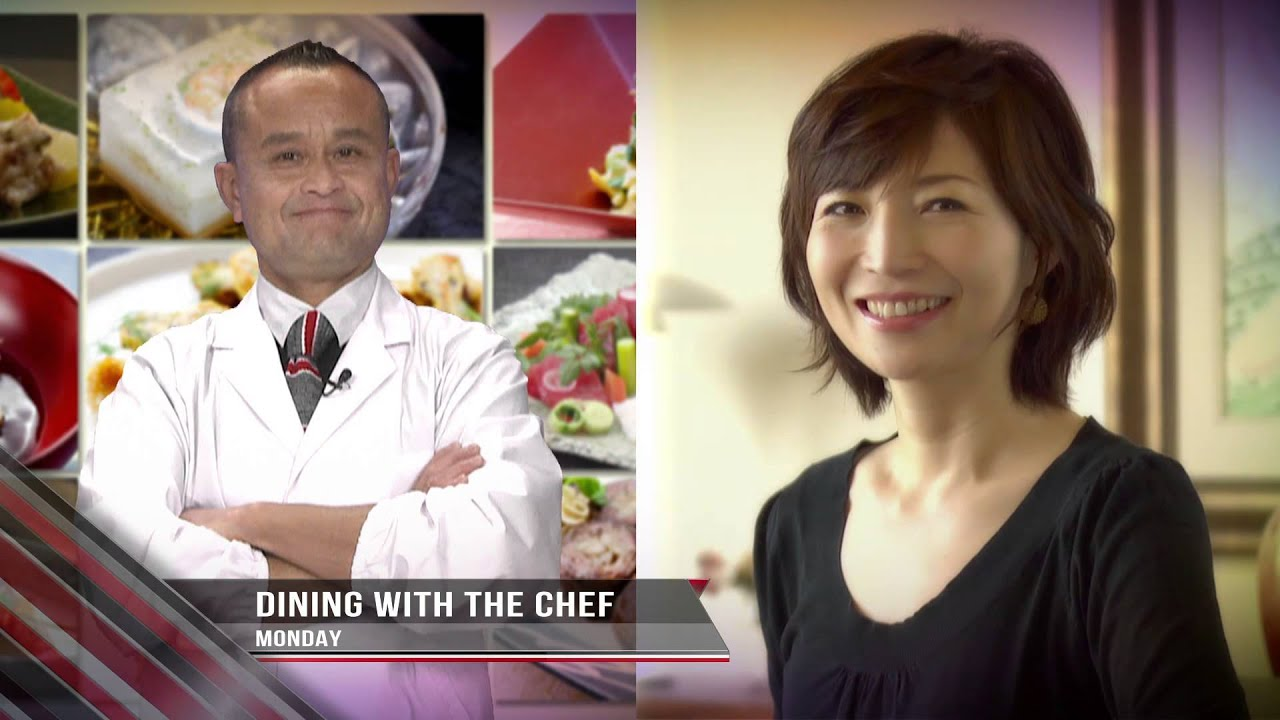 IndovisionTV Highlight : NHK World - Dining with the chef ...