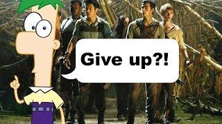 Ferb's Speech in The Maze Runner