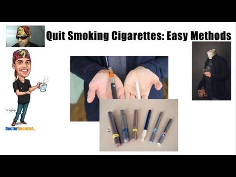 How to Quit Smoking Using Methods Doctors Prescribe