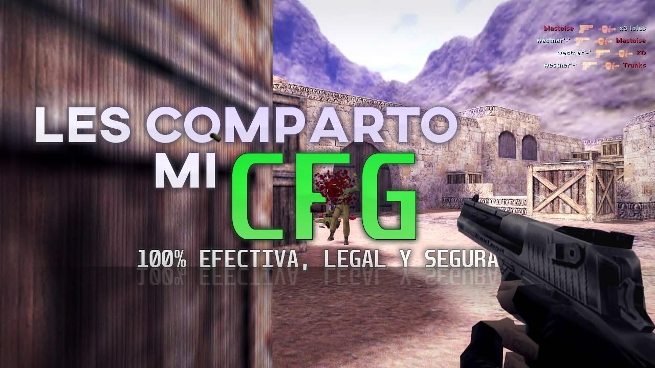 LES COMPARTO MI CFG | Counter-Strike 1.6