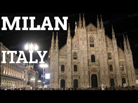 CITY BREAK TO MILAN ITALY 2017 HOLIDAY VACATION TRAVEL TOUR VISIT VIDEO