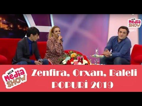 Zenfira Ibrahimova Orxan Lokbatanli Baleli Mastagali (SUPER CANLI IFA) 2019 - Media Show