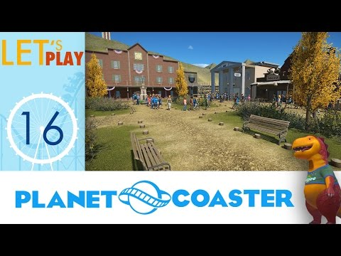 [FR] Planet Coaster Ep. 16 - Hôtel de Ville
