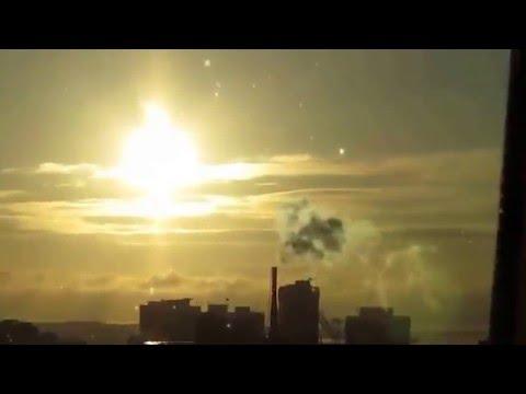 AMAZING PlanetX Nibiru Multiple Suns Rise Over Halifax