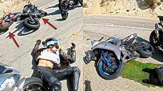 How To NOT Rİde - Crazy Motorcycle Moments - Ep. 268