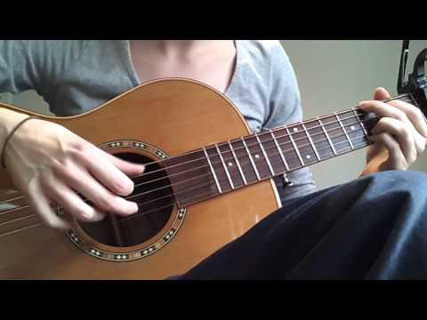Gillian Welch - Elvis Presley Blues riff