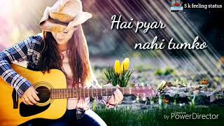 Lo maan liya| new female sad feeling whatsapp status| S k feeling status