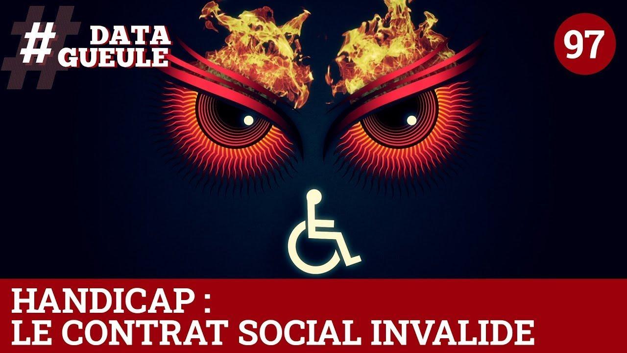 Handicap : le contrat social invalide (Version LSF) - #DATAGUEULE 97
