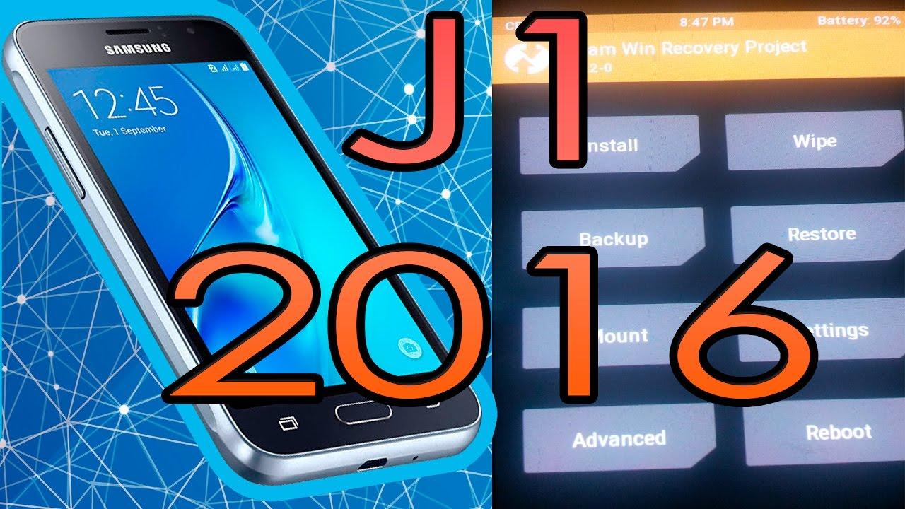 Twrp J1 2016 J120g