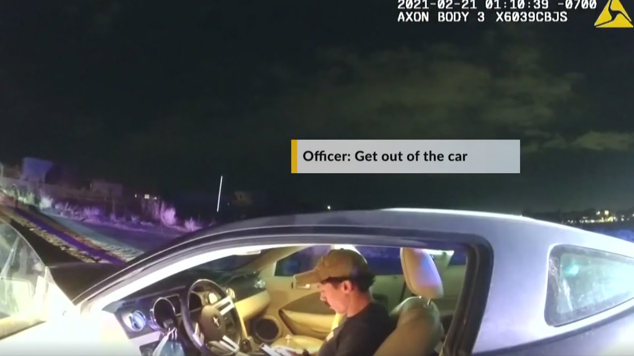 Download APD officer tries to conceal identity, ignores cops during DWI arrest