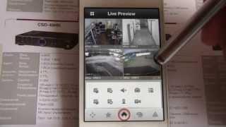 Видеонаблюдение через интернет. Приложение для iPhone(Просмотр камер наблюдения видеорегистратора через интернет. Бесплатное мобильное приложение iDMSS Light для..., 2013-05-10T09:17:36.000Z)