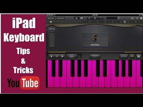 Garageband Tutorial - Keyboard Tips & Tricks - Apple iPad