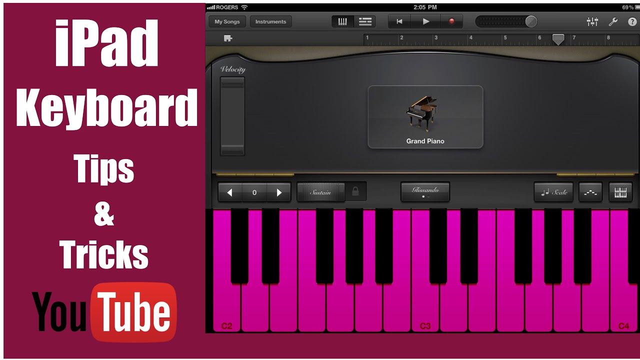 how to connect keyboard to ipad garageband
